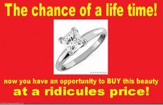 1 00 Ct Princess Cut Manmade DIAMOND14K Solid White Gold Engagement Ring Must C   eBay