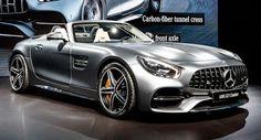 Neue Mercedes-AMG GT C Roadster Sieht aus wie zu Hause in LA AMG LA Auto Show Mercedes Mercedes AMG Mercedes AMG GT New Cars