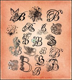#lettering #B #typography