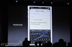Apple will finally support third-party keyboards in iOS 8 @Youngkyu Kim Thanks for sharing!