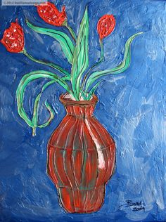 Blue Like...  Acrylic,hot glue,Sharpie on canvas