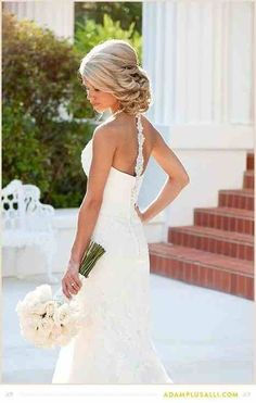 Tricia check this one out! Beautiful bridal hair Perfect for an Anna Maria island beach wedding. www.pamelakemper.com
