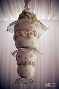 44 Best Hanging Cakes images | Wedding cakes, Chandelier ...