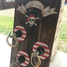 Hook Game ring toss pirate party
