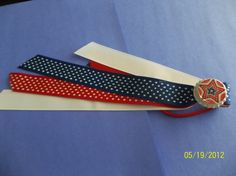 Happy 4th of July Bottle Cap Ponytail by ang744 on Etsy, $3.50