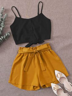 Really Cute Outfits, Cute Comfy Outfits, Cute Summer Outfits, Edgy Outfits, Pretty Outfits, Cool Outfits, Summer Outfit For Teen Girls, Casual Outfits For Teens, Girls Fashion Clothes