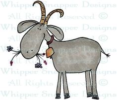 Billy Goat - Farm - Animals - Rubber Stamps - Shop Goat Playground, Goat Art, Boer Goats, Funny Paintings, Kids Canvas, Goat Farming, Doodle Art, Farm Animals, Painted Rocks