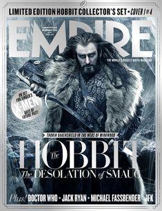 Empire's The Hobbit: The Desolation Of Smaug magazine cover - Thorin.