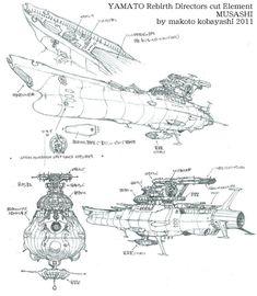 Rocketumblr   小林誠 Makoto Kobayashi 宇宙戦艦ヤマト 復活篇 Space...