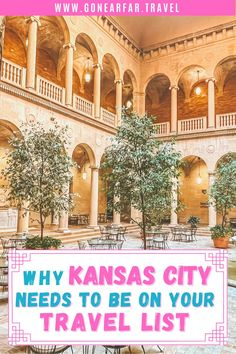 Here's a one day guide to Kansas City. All the museums, restaurants, and sights you need to visit in Kansas City | One Day Itinerary | Kansas City Missouri | Foodie Guide Kansas City | Kansas City Museums | Budget Guide | Affordable Sights Kansas City Museum, Kansas City Missouri, Road Trip Photography, Rooftop Patio, Road Trip Essentials, Bucket List Destinations, Union Station, Free Things To Do, Road Trip Usa