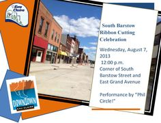South Barstow Ribbon Cutting Ceremony on Aug 7th at noon. Come see the new street open!
