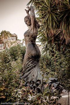 Lola Flores statue in Puerto Banus - Marbella