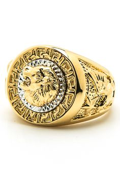 The Golden Lion Ring by Monsieur