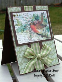 bird card for the men