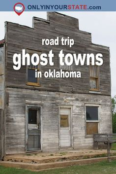 This Haunting Road Trip Through Oklahoma Ghost Towns Is One You Won't Forget - - Time for another fabulous Oklahoma road trip! Road Trip Packing, Road Trip Essentials, Road Trip Hacks, Vacation Places, Vacation Trips, Places To Travel, Places To Go, Vacations, Oklahoma City Things To Do