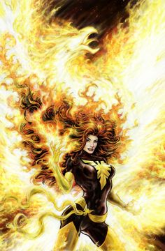 JEAN GREY Art - See best of PHOTOS of the X-MEN Superhero