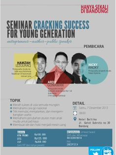 Seminar Cracking Success For Young Generation