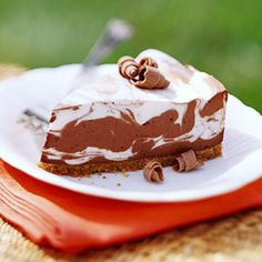 No-Bake Chocolate Swirl Cheesecake