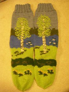 Ravelry: 51. Koivukuvioiset sukat pattern by Kirsti Porvari