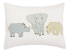 Elephant Throw Pillo
