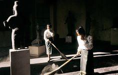 Yves Gellie - National museum. Phnom Penh, 1993.