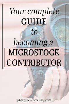 IF YOU LOVE THE IDEA OF PASSIVE INCOME, THIS GUIDE IS FOR YOU!It covers everything you need to know to become a microstock contributor and start selling your photos online