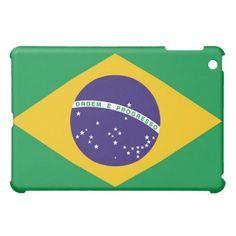 Brazil flag for Brazilian  iPad mini case