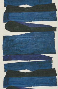 Wallpapers FP560001 Obsidienne | Pierre Frey