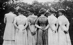 1900 dresses polka dots