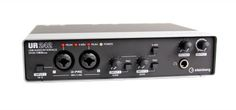 Steinberg UR242 USB and iOS Audio Interface: Record at 192 kHz/24-bit quality with this 4x2 USB interface. You get two Class-A mic preamps, a Hi-Z input for direct guitar, 2 line ins, MIDI I/O and more.