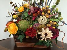 30  OFF Table floral floral arrangement por CarolaFlowerDesigns