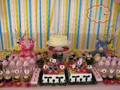 Idéias para a festa de aniversário da Gigi! ;) #festa #backyardigans #aniversário #fofuras