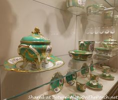 Tour the Imperial Silver & Porcelain Collection Museum inside The Hofburg Palace in Vienna, Austria. Sissi, Vienna Museum, Learn To Fly, Vienna Austria, Porch, Victorian, Kettles, Theatres, Dinner Sets