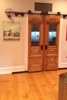 Custom vintage Barn Door design