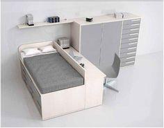 Dormitorio juvenil / youth bedroom http://www.decorhaus.es/es/ #muebles #furniture #Málaga