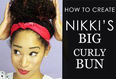 Doing the Least: Big Easy Hair Bun