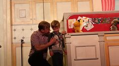 A short clip of when Sonny met Sooty.  Priceless!!