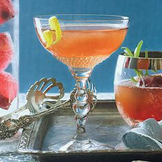Holiday Cosmopolitan - Top Holiday Cocktails Recipes - Southern Living