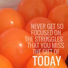 Positive Vibes Only and Keep your focus on the result, the gifts, and the good to come! #nobadvibes #successful #day #faithworks #positivevibesonly #orange #eynjuhl