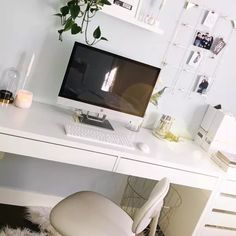 Fan Gallery and Inspiration Ikea Micke, Micke Desk, Ikea Fans, Honeycomb Paper, Painted Drawers, Plastic Drawers, Bedroom Desk, Drawer Unit, Smart Storage