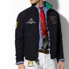 1010 Ralph Lauren para hombre chaqueta acolchada de Negro Polo Ralph Lauren,  Homme Quilt, 24caaf4171f4