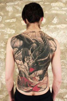 #dragon #tattoo   Agrypa, Reinkarnation Tattoo & Piercing, Germany