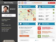 The Healthspek homepage is easy to use!  Healthspek is an iPad application that allows patients to manage and maintain their personal health record.  Take control of your health today! Join the e-Patient revolution and download Healthspek now! Own your chart, know your options, achieve better health.          https://itunes.apple.com/us/app/healthspek/id576488481?mt=8        Follow us on Facebook! Http://www.facebook.com/healthspekapp       Check Out Our Website! http://www.healthspek.com