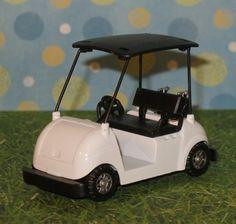 Golf Cart Cake Topper    Diecast