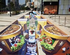 'Macao's One Impression' 3D Street Art                                                                                    |AmazingStreetArt|