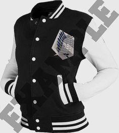 PREORDER Custom Shingeki No Kyojin/Attack On Titan Letterman Jackets on Etsy, $100.00