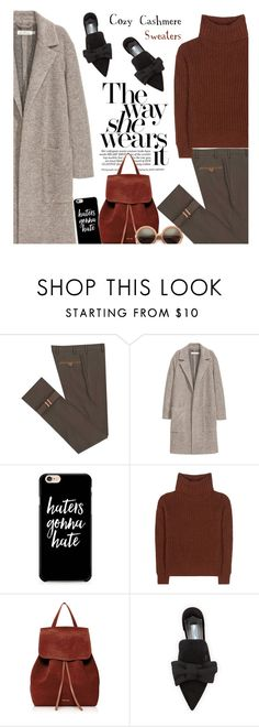 """""""Untitled #447"""" by ino-6283 ❤ liked on Polyvore featuring Diverso, Loro Piana, Mansur Gavriel, Prada and Wildfox"""
