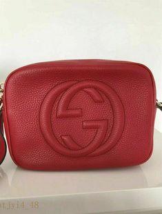 485cc8c1e22 ++Authentic Gucci Soho Disco Leather Handbag Crossbody   Shoulder Bag++