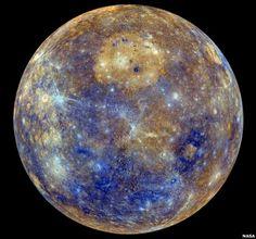 Mercury, NASA photo
