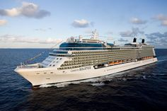 Celebrity Solstice which is one of Celebrity Cruises largest ships and the first…